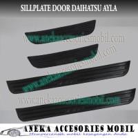 Sillplate Door/Sillplate Samping Daihatsu Ayla Warna Hitam