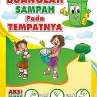 Jual Poster Membuang Sampah Pada Tempatnya Kota Tangerang Dapin Edutama Tokopedia