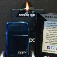 Zippo Blue Sapphire Logo 20446ZL