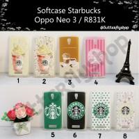 Softcase Starbucks Oppo Neo 3 / R831k