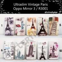 Ultraslim Vintage Paris Oppo Mirror 3 / R3001