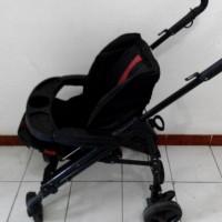 stroller bayi warna hitam
