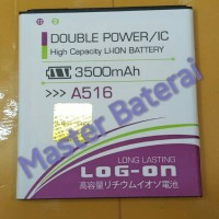 Baterai Lenovo A516 BL209 BL-209 Double Power 3500mAh