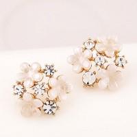 Anting Tusuk Best Seller Anting Forever 21 flower decorated simple des
