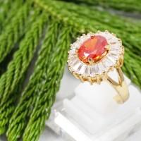 Cincin Wanita Red Diamond