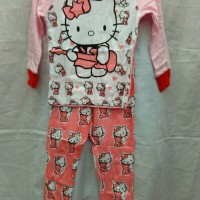 harga Piyama Gap Hello Kitty Size 2-7 Tahun Tokopedia.com
