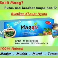Maggo - Obat Sakit Maag Herbal - Obat Maag Akut dan Kronis