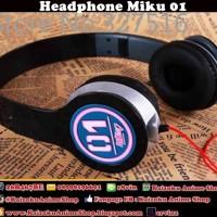 HEADPHONE ANIME VOCALOID MIKU 01