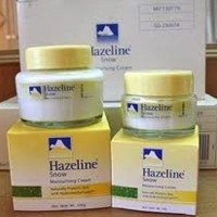HAZELINE SNOW MOISTURIZING CREAM made in Malaysia
