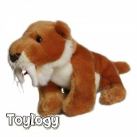 Boneka Hewan Singa Gunung ( Mountain Lion Doll ) - 9 inch