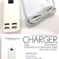 TRAVEL CHARGER 4 PORT CHARGER TRAVEL 4 PORT 4 USB Charger / 4 Port USB