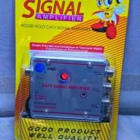 Penguat Signal Dan Paralel 3 Tv Agar Lebih Jernih & Stabil