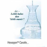 "Hexagon ""Carafe"" Energy Glassware (1,3 liter)"