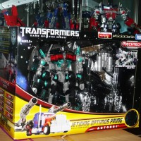 Takara Tomy Transformers DOTM SC Jetwing Optimus Prime Black Version