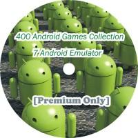 DVD 400 Game Premium untuk Android + 7 Emulator untuk android