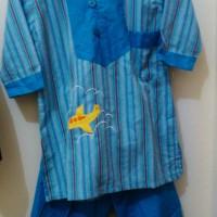 baju muslim set anak usia 4th