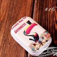 Kotak Permen / Kotak Obat - Lovely day dor a Guinness
