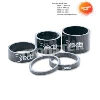 2 Pcs Spacer Carbon Deda 1 1/8 inch 10 mm Black