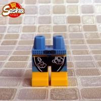 LEGO Legs Surfboard Beach - LEGO Minfig Part