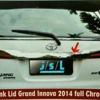 Trunklid Grand All New Inova Crome 2014
