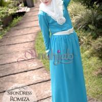 Gamis Nuhijab Sifon Dress Ramiza (sdr) - Tosca