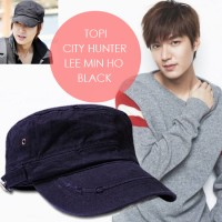 harga Topi City Hunter Lee Min Ho Black Tokopedia.com