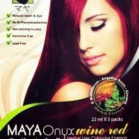 MayaOnyx Wine red