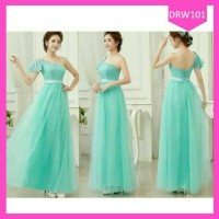 busana muslim maxi kebaya pink biru merah grey gaun gown dress wedding