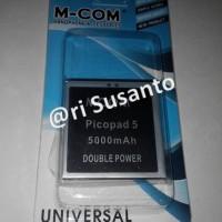 Baterai M-COM Axioo Picopad Gew 5 Double Power 5000mAh