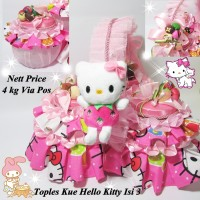 Toples Kue Hello Kitty isi3 Cocok untuk Kue Lebaran Cantik