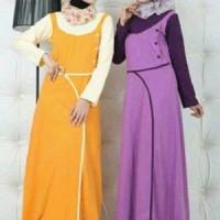 Baju Muslim Syar'i Trendy Bahan Kaos Katun GM 1308
