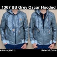 jaket Pria BB Grey Oscar Hooded