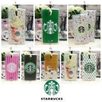 Starbucks Oppo Mirror 3 Case Softcase Softshell Jelly Cover Casing