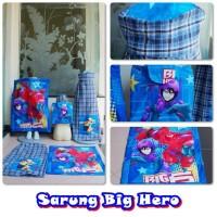 SARUNG INSTAN ANAK BIG HERO SIX SIZE 11-12 TAHUN