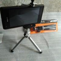 Tripod Excell MN37 Mini Smartphone Holder U besar 5-6 inchi
