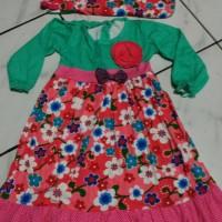 baju muslim gamis anak sakura