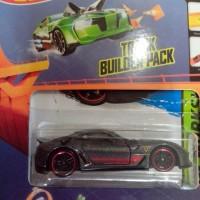 Hot Wheels - Hot Wheel - Hotwheel - Ferrari 599XX + Track Builder Pack