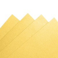 Fancy Paper 230 gsm A3 - Golden Yellow Kuning Metalik