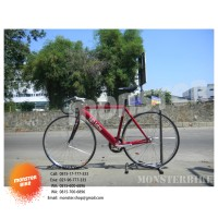 New Full Bike Fixed Gear LD Labs 55cm Red