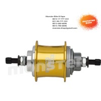 Internal Gear Hub Sturmey Archer S3X 3Speed 36H Gold