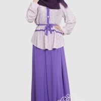 Gamis Shafeeya Setelan Rawnie -Purple