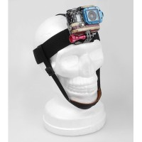 TMC Head Strap Belt For GoPro & Xiaomi Yi - HR95 - Black