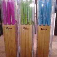 Jual OX-961 Knife Set Color Pisau Cantik Oxone Murah