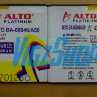 Baterai Battery Mito A50 Fantasy 3600mAh Alto Double Power