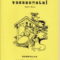 """Buku Partitur Paduan Suara Lagu Natal """"VOCASONATAL """""""