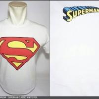Kaos Superhero TopGear Superman Classic White