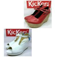 Wedges Sandal Kickers Wanita santai formal