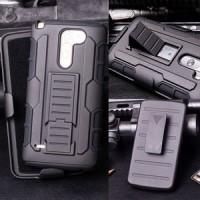 Lg G3 Stylus Hardcase Armor Hybrid Dual Layer Bumper Case Cover