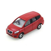 Tomica Datsun Go+ Red