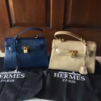 Tas Wanita Hermes Kelly import leather murah